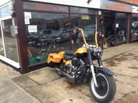 Delivery Available U.K. Europe Stunning Custom Harley Davidson Fatboy Bagger 2011