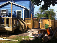Decks,fences,walkways & more! Call today build tomorrow !
