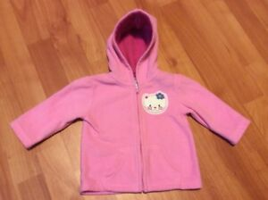 Baby Girl - Hello-Kitty, Zip up Hoodie, size 3-6 months