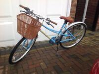 Lady's retro pedal bike