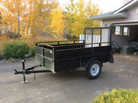 Utility Trailer 5 by 8.   Only 5 months old barely used