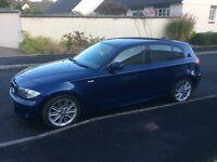 BMW 118 diesel m sport £30 tax only 40k 5 dr 2009