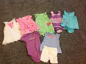 6-9 months girls' clothing lot!