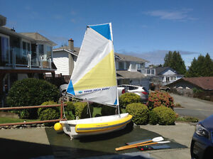 Walker Bay - 8 ft. Dinghy with Breeze sail package