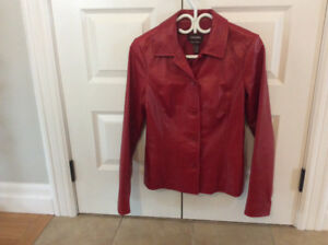 Danier Leather Jackets - Various + cloth jacket