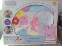 Peppa Pig Baby Tummy Time Activity Playmat Brand New in Box