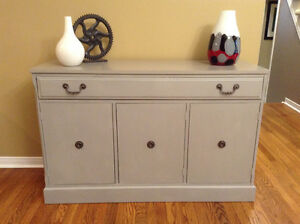 Chalk Painted Sideboard Buffet. b4andafter