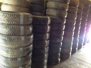 ** LOTS OF TOP QUALITY USED TIRES SOME LIKE NEW **