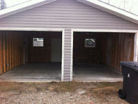 Double Garage for Rent - Available Immediately