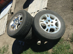 Dodge van rims and tires