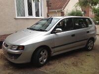 Mitsubishi space star 2004 excellent throughout