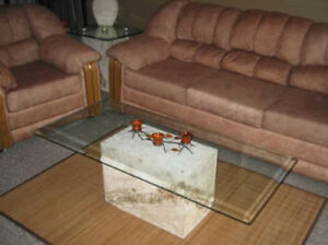 Coffee table (no glass) matching end table