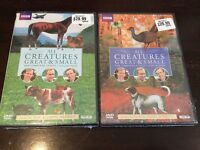 All creatures great and small series 1 & 2. $20
