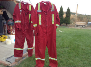 Safety gear, glasses, gloves, coveralls,