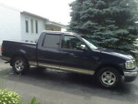 2001 Ford F-150 supercrew 142000  proprietaire