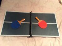 Mini table top table tennis