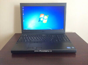 Dell Precision M4800 Quad Core i7 Laptop, Webcam & 90 Day Wty