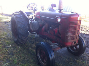 antique International Super W6 tractor Strathcona County Edmonton Area image 2