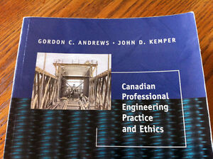 Canadian professional engineering: Practice and ethics
