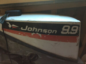 Outboard Johnson 9.9 hp