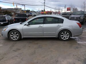 2007 Nissan Maxima SL 3.5 V6 inspected August 176 kms $4500.00