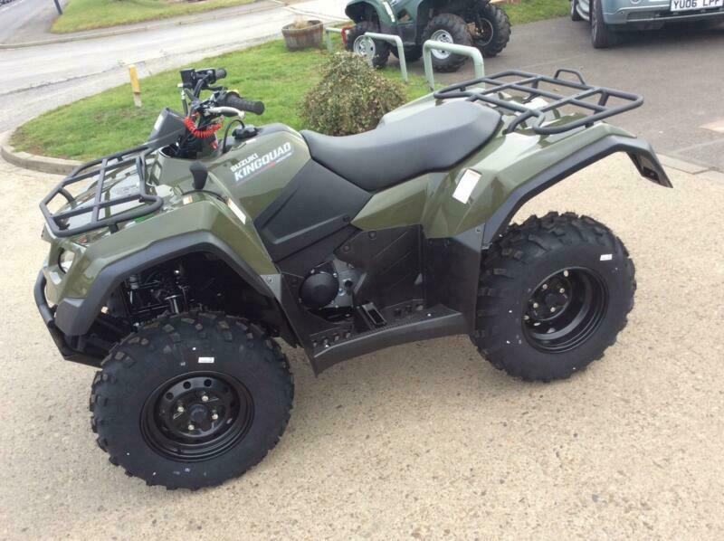 2019 Suzuki King Quad 376cc (LTA400) 400 Auto ATV 400 | in Northallerton,  North Yorkshire | Gumtree