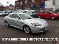 2007 (57 Reg) Hyundai Coupe 2.0 SIII AUTOMATIC 3DR Coupe SILVER + LONG MOT
