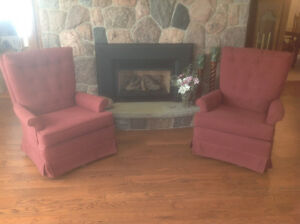Pair of Living Chairs