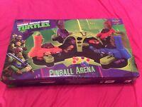 Teenage Mutant Ninja Turtle Pinball Arena - Brand New - Never Used - ideal for Christmas