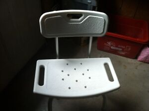 Bath or Shower Seat and Grab Bar