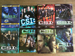 CSI Television Show - DVD format