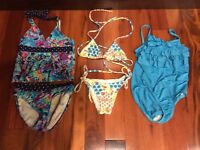 Girls swim suits size 5 to 7