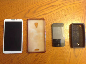 iPhone 4s and Huawei Mate2 for sale