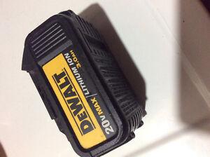 Dewalt 20 volt lithium ion 3.0ah battey