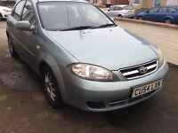 NOW SOLD. Low mileage Daewoo Lacetti 1.6 sx