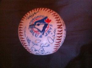 Blue Jays Signed Baseball