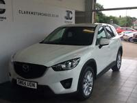 2015 Mazda CX-5 2.2 TD Sport 2WD 5dr Diesel white Manual