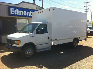 2007 Ford E-350 14FT CUBE  (57000KMS)