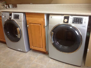 Kenmore Elite washer and dryer with steam