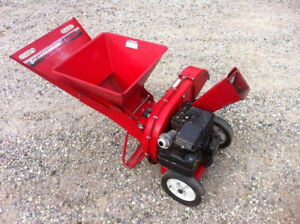 tilt down metal hopper type 5hp wood chipper shredder wanted