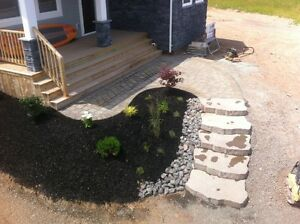Landscaping and Mini Excavation