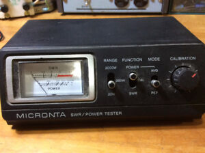 Micronta SWR meter