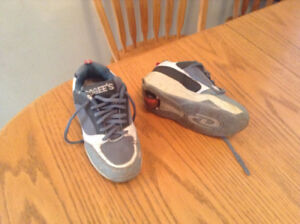Wheelies / Heely's running shoes, by Rogee's