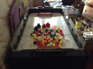 Canada CPT hockey game, multi game table