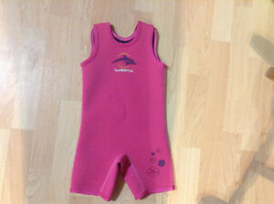 Girls size 2-3T wetsuit