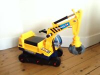 Sit on builders toy