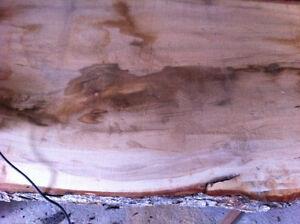 Live Edge Maple lumber slabs for sale London Ontario image 2