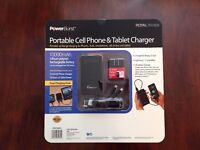 Royal Power Burst 10000mah Portable Cell Phone & Tablet Charger.