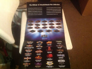 WWE/WWF 20TH ANNIVERSARY WRESTLEMANIA 'S PIN COLLECTION