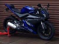 Yamaha YZF R125 Only 6737miles. Delivery Available *Credit & Debit Cards Accepted*